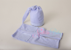 Blue Winkie Hat & Pants Set